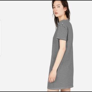 Boxed Cut Tee Dress